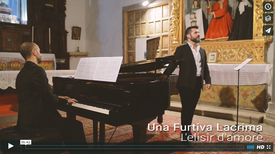 """Una Furtiva Lagrima"" / L'elisir D'amore. Video."